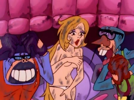 タイムボカン マージョの胸裸ヌードパンツ23