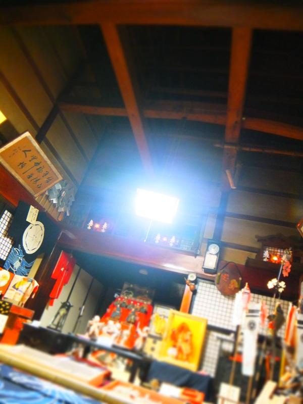 町屋造り 天井.JPG