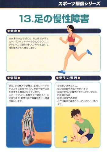 足の慢性障害 表0001