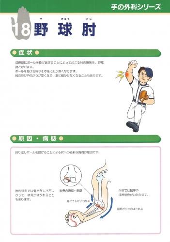 野球肘 表0001