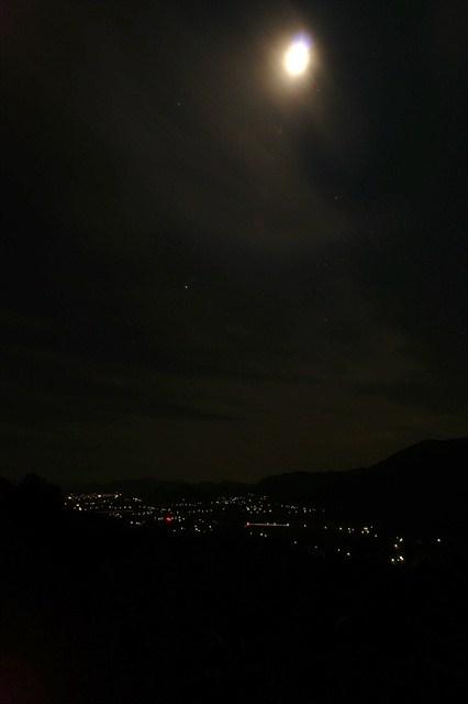 京都峠の夜景-1