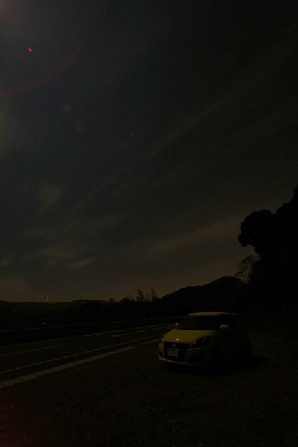京都峠の夜景-2