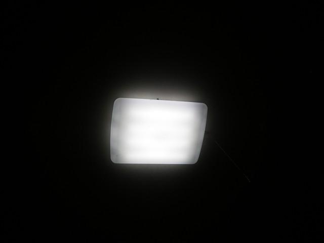 天井の蛍光灯