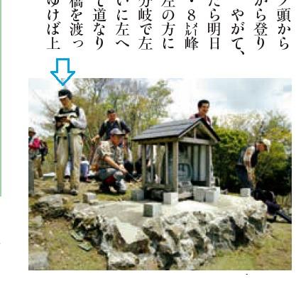 7 「岳人」4月号 笠捨山のモデル