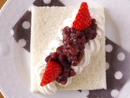サンドイッチの日あずきクリームのサンドシナイッチ01
