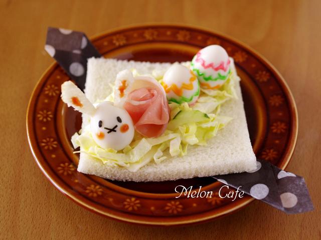 イースターウサギのサンドシナイッチ02