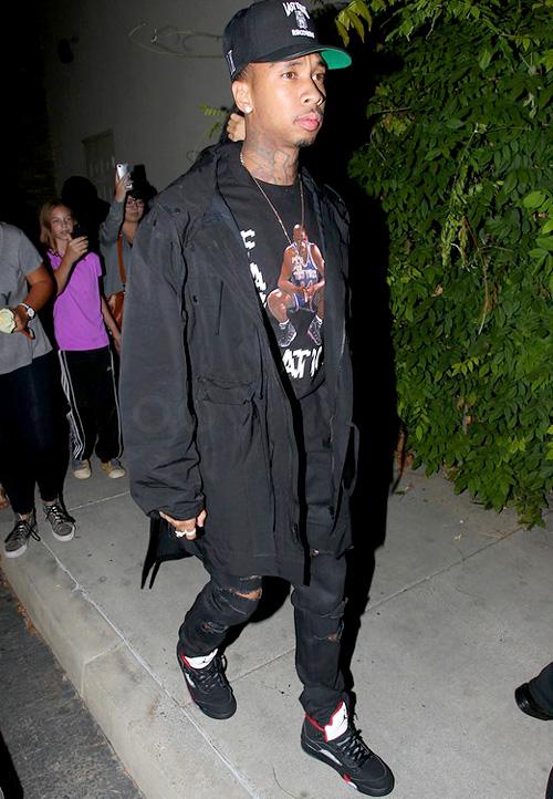 タイガ(Tyga):ホール・オブ・フェイム(Hall of Fame)サンローラン(Saint Laurent)シュプリーム(Supreme)×ナイキ(NIKE)