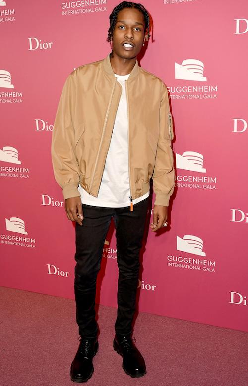 エイサップ・ロッキー(A$AP Rocky):ディオール(Dior)
