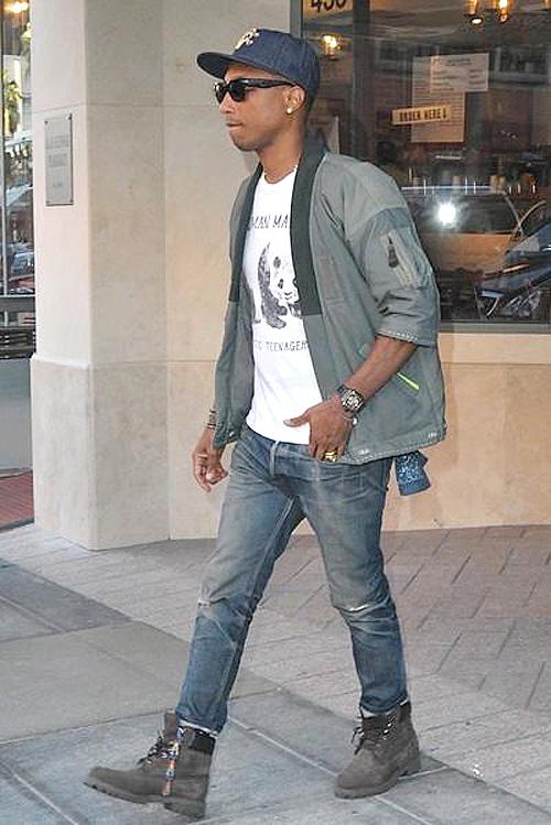 ファレル・ウィリアムス(Pharrell Williams):ヴィズヴィム(visvim)ヒューマンメイド(Human Made)ティンバーランド(Timberland)ビリオネアボーイズクラブ クラブ(BILLIONAIRE BOYS CLUB)