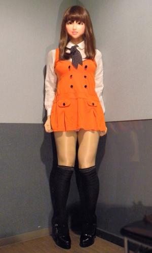 オレンジワンピ2