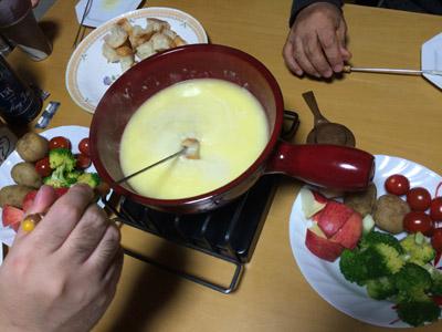 チーズフォンデュ5