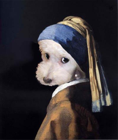 フェルメール 真珠の耳飾りの少女 パセリちゃんで