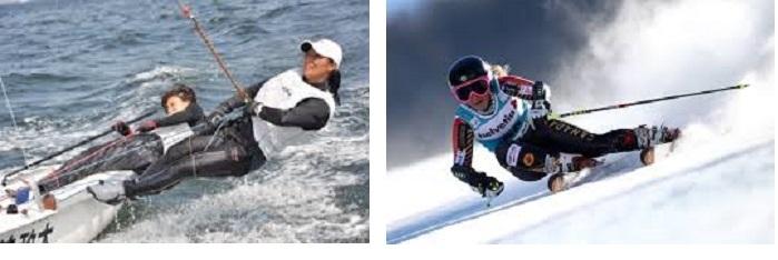 ヨット+スキー