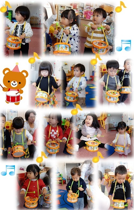 Baby MIE クリスマス会練習2