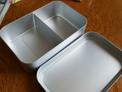 アルミ弁当箱 (2)