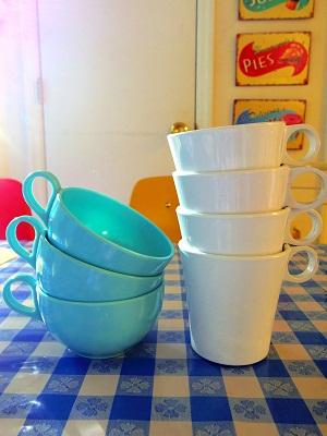 melmac cups