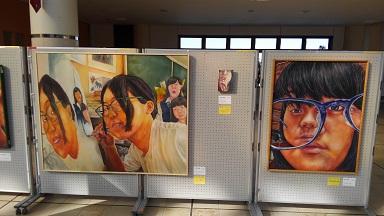 1北広島高校美術部作品