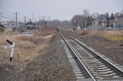 芽室駅線路