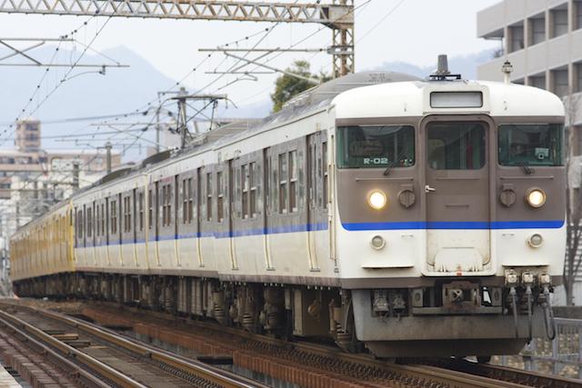 160313 JRW 115 shimonosekishoku 8cars