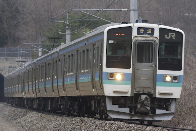 160320 JRE211 matsumoto 6cars
