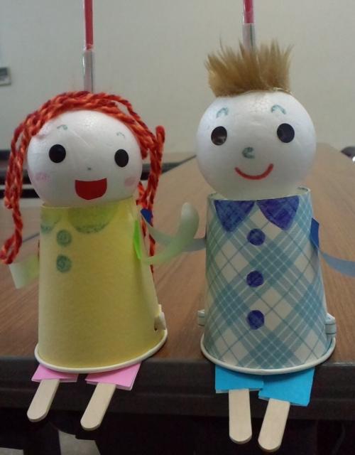 手作り人形ワークショップ