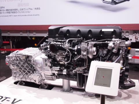 ESCOT-V+GH11エンジン