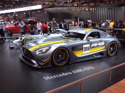 AMG GT3 W05 ハイブリッド