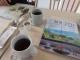 minou books&cafe読書