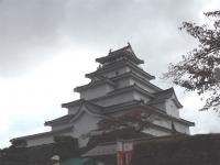 20151031鶴ヶ城1