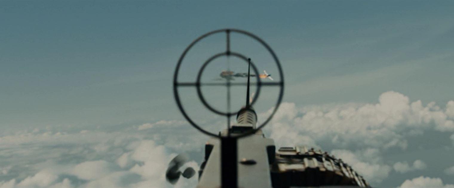 B24の銃手に撃墜される零戦