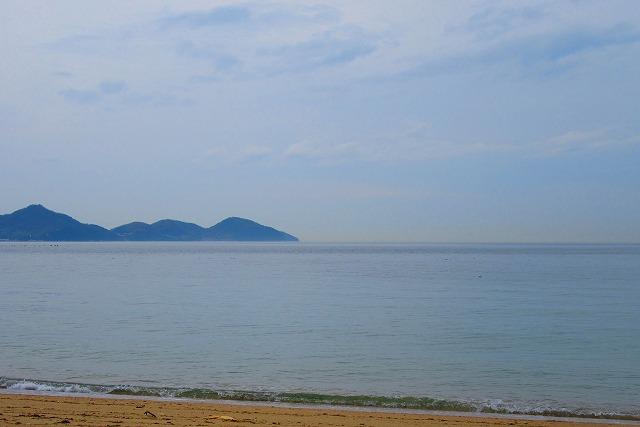 粟島西浜海岸から 28.3.23