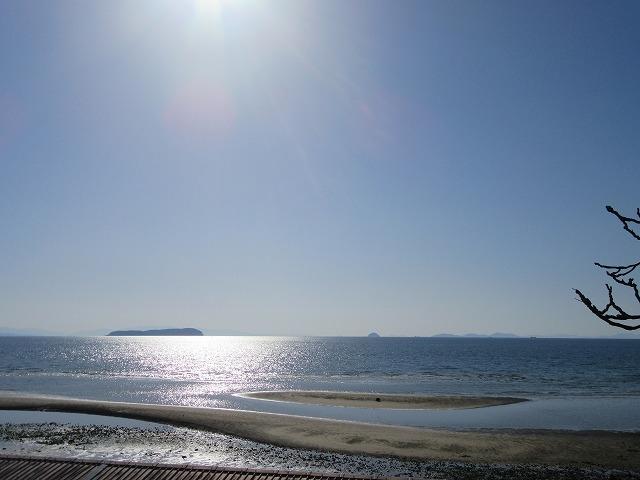 サンビーチから伊吹島 28.3.21