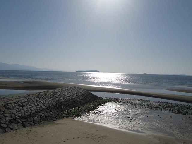 サンビーチから 左下 28.3.21