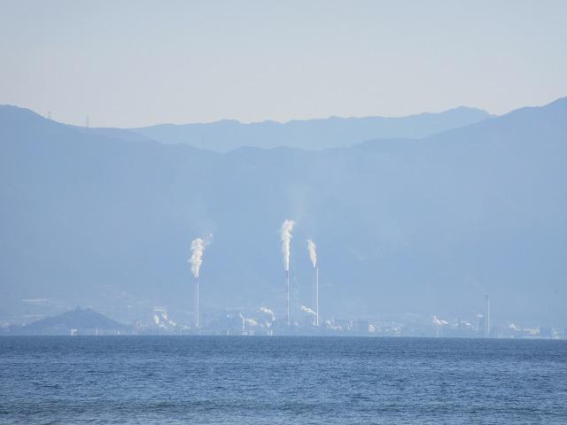 サンビーチから川之江煙突 28.3.21