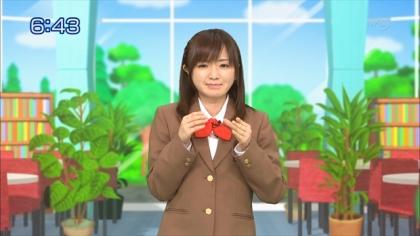 160314合格モーニング 紺野あさ美 (1)