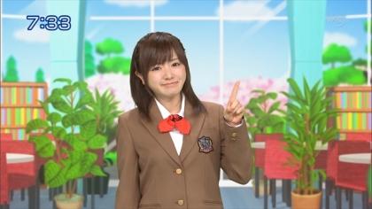 160407 合格モーニング 紺野あさ美 (2)