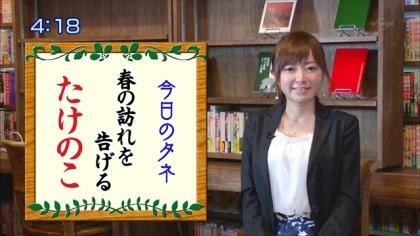 160408朝ダネ 紺野あさ美 (5)