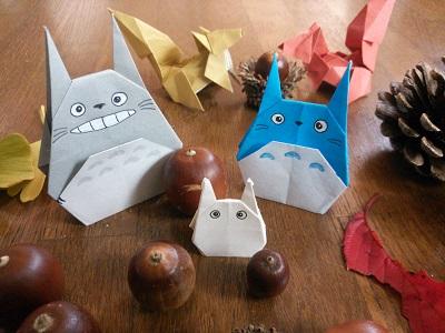 クリスマス 折り紙 折り紙 トトロ : mogumogu0215.blog.fc2.com