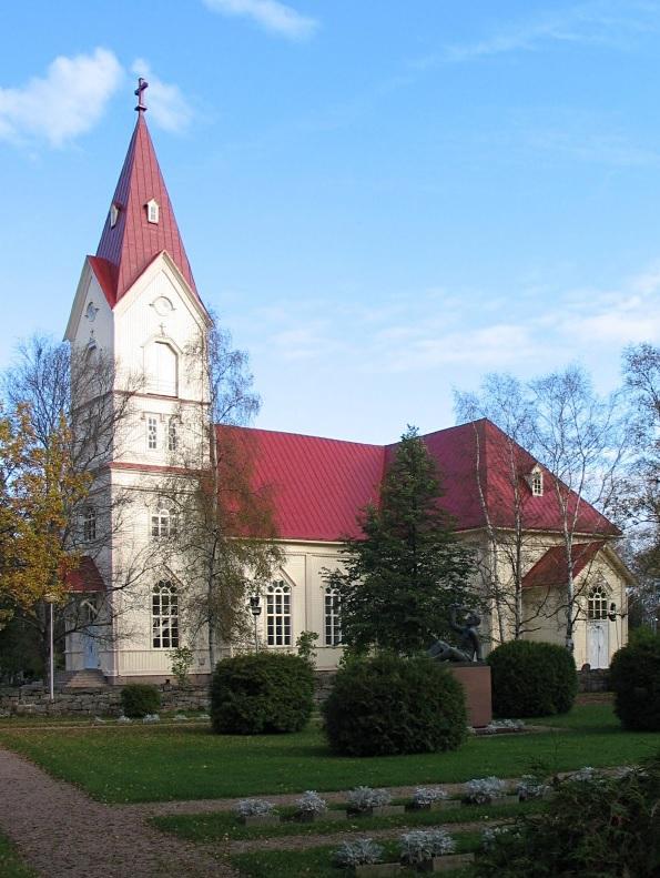 フィンランド カラヨキ ウリヴィエスカン教会