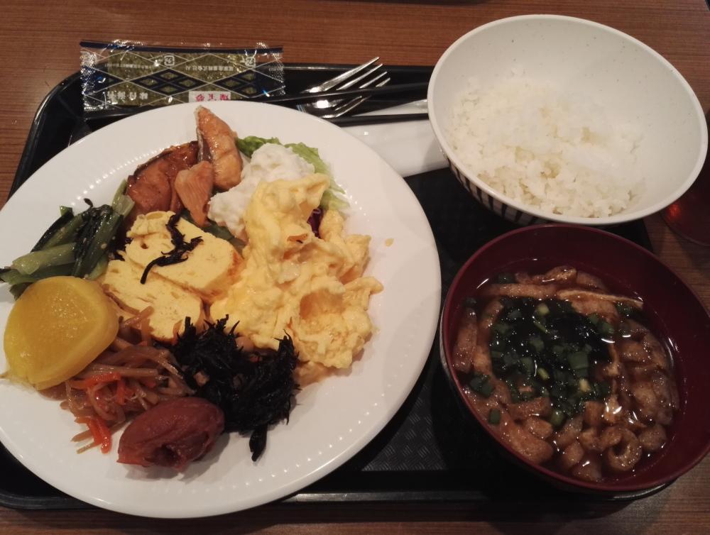 Osaka Hotel Breakfast 大阪 ハートンホテル 朝食