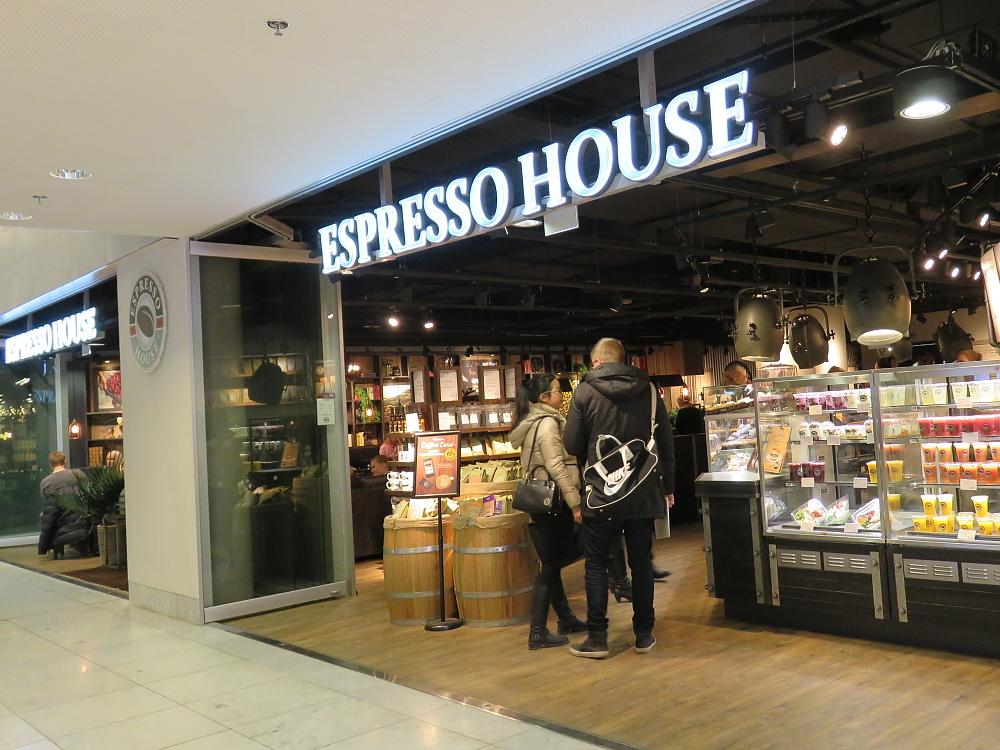 フィンランド ヘルシンキ Foru,m カフェ Espresso House