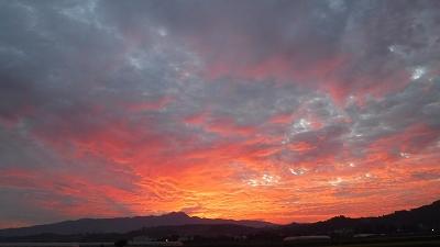 2015.10.15朝焼け