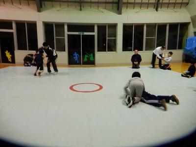 レスリング練習 009