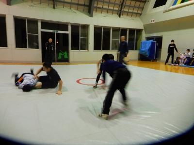 レスリング練習 007