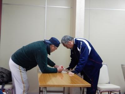 レスリング北日本大会抽選会 009