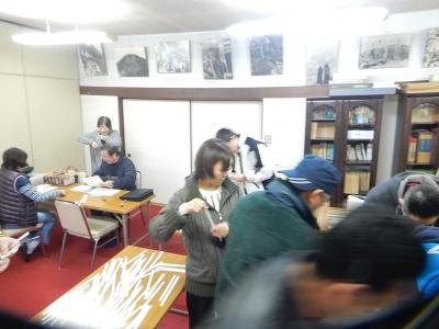 レスリング北日本大会抽選会 006