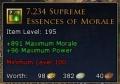 supreme essence of morale