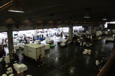 小田原の魚市場