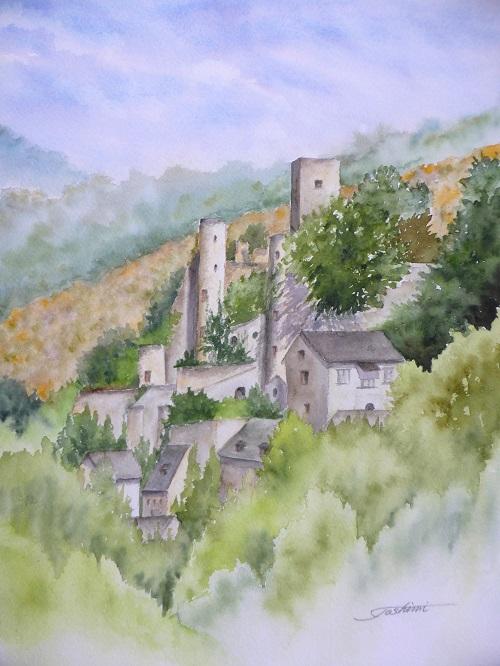 ベルカステルのお城