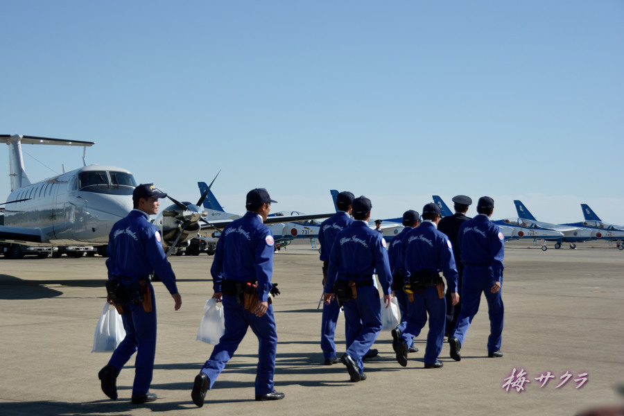 入間航空祭(2)ブルーインパルス(1)変更済